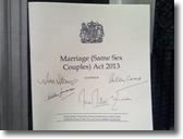 英首相「同性婚法案チームを世界に輸出したい」